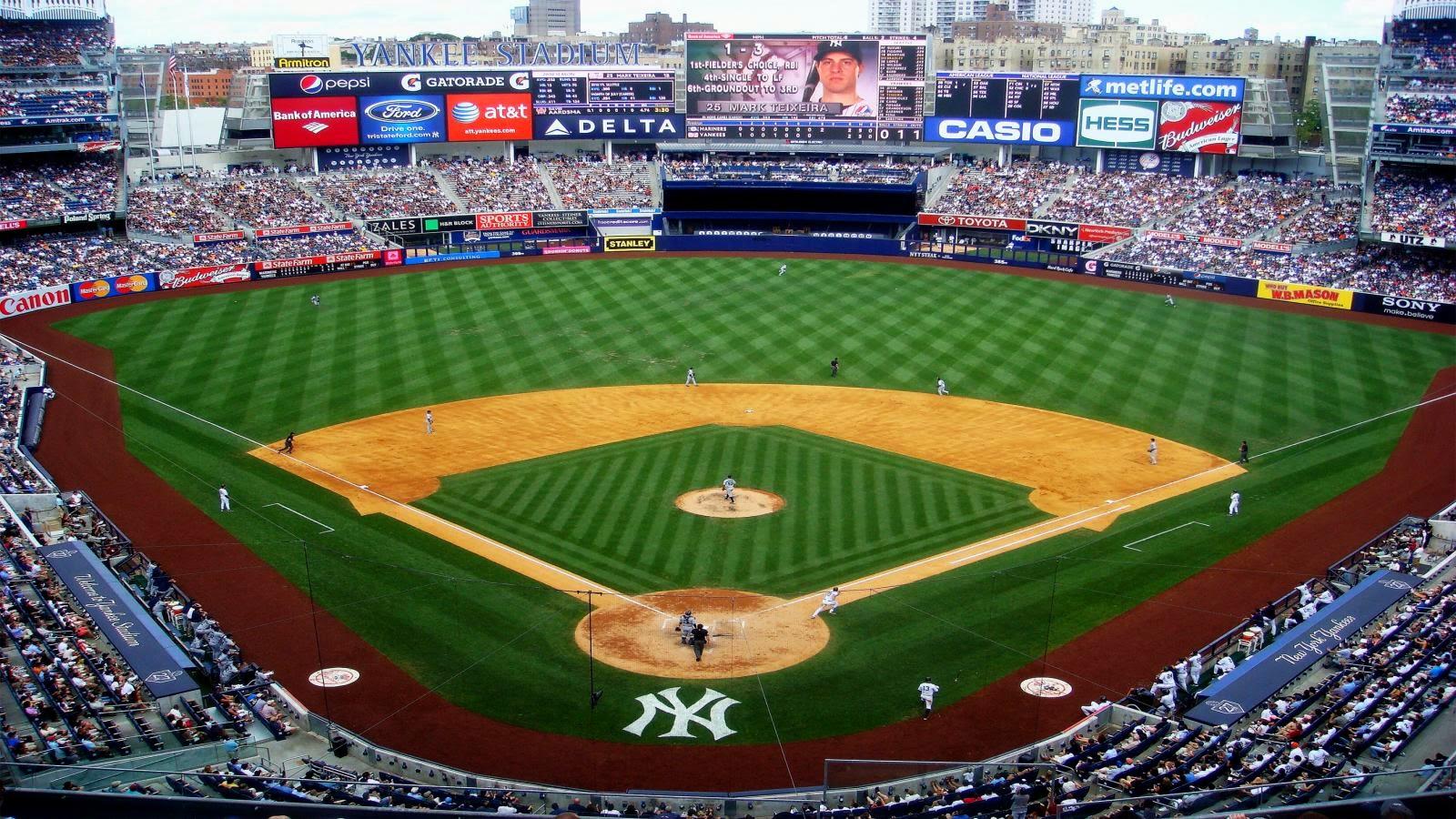 Yankee Stadium Desktop Wallpaper Hd