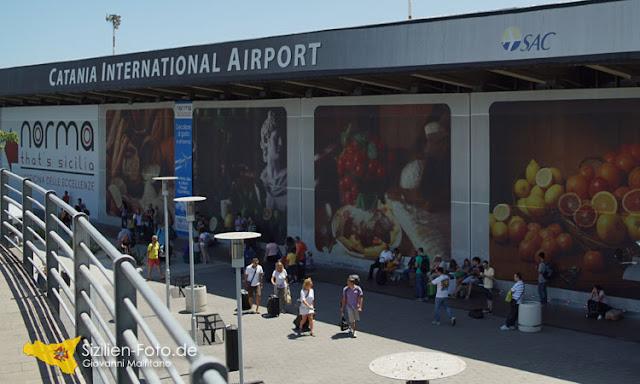 Flughafen in Catania