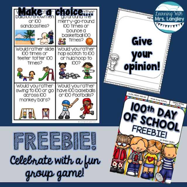 https://www.teacherspayteachers.com/Product/100th-Day-of-School-FREEBIE-2343463