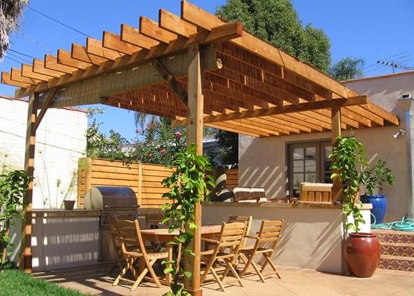 Gallart grupo el blog suelos y puertas de madera en for Pergolas de madera precios