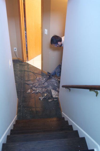 Removing Ceramic Tile from Concrete Slab? Let\'s Do It! | matsutake
