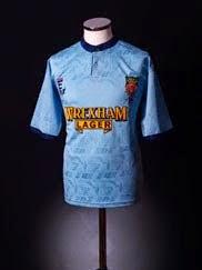1994-95 Wrexham 'Welsh Cup Winners' Third Shirt