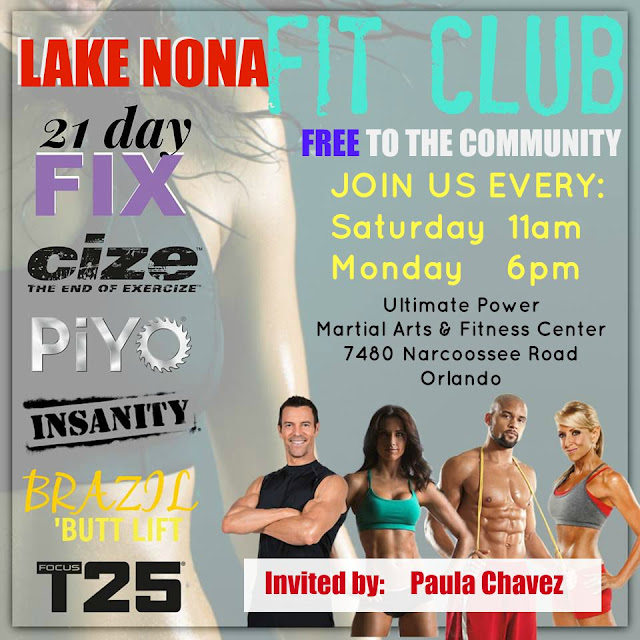 lake nona, fit club, beachbody, top coach, insanity, cize, health and fitness, orlando, lee vista, gyms in orlando, lake nona fitness, coach, beachbody coach,