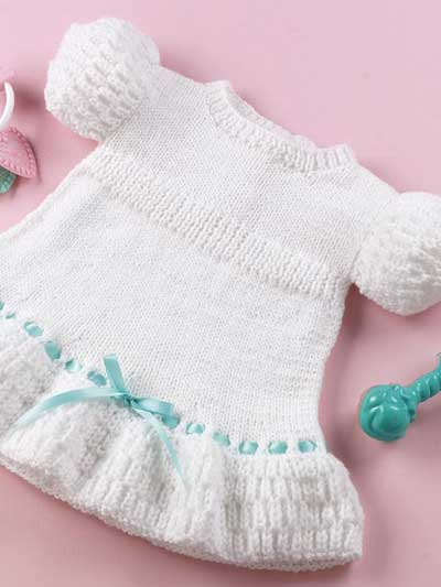 free knitting pattern: free baby girl clothes models 2012