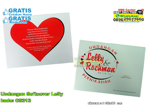Undangan Softcover Lelly