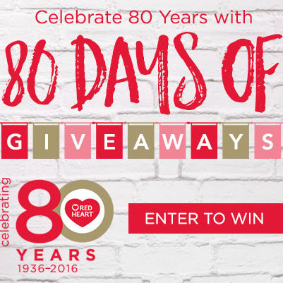 80 dagen Red Heart Giveaways!