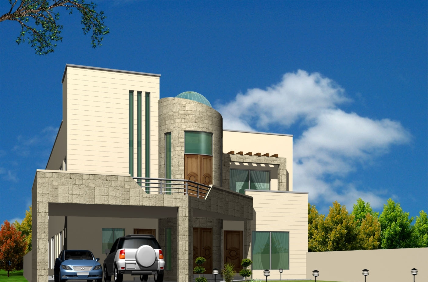 5 Marla Front Elevation Of Houses Joy Studio Design