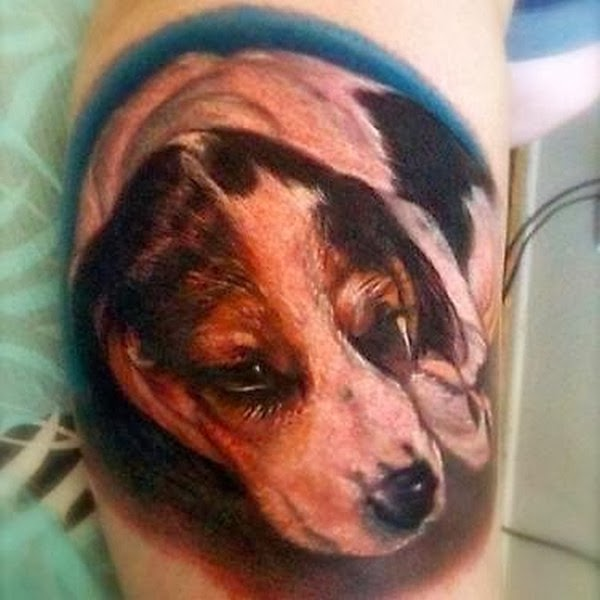The Best Dog Tattoos (Gallery 3)