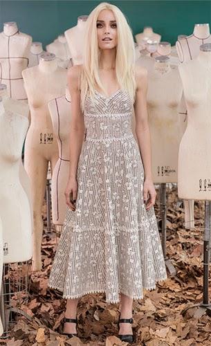 vestido de couro Patrícia Viera coleção inverno