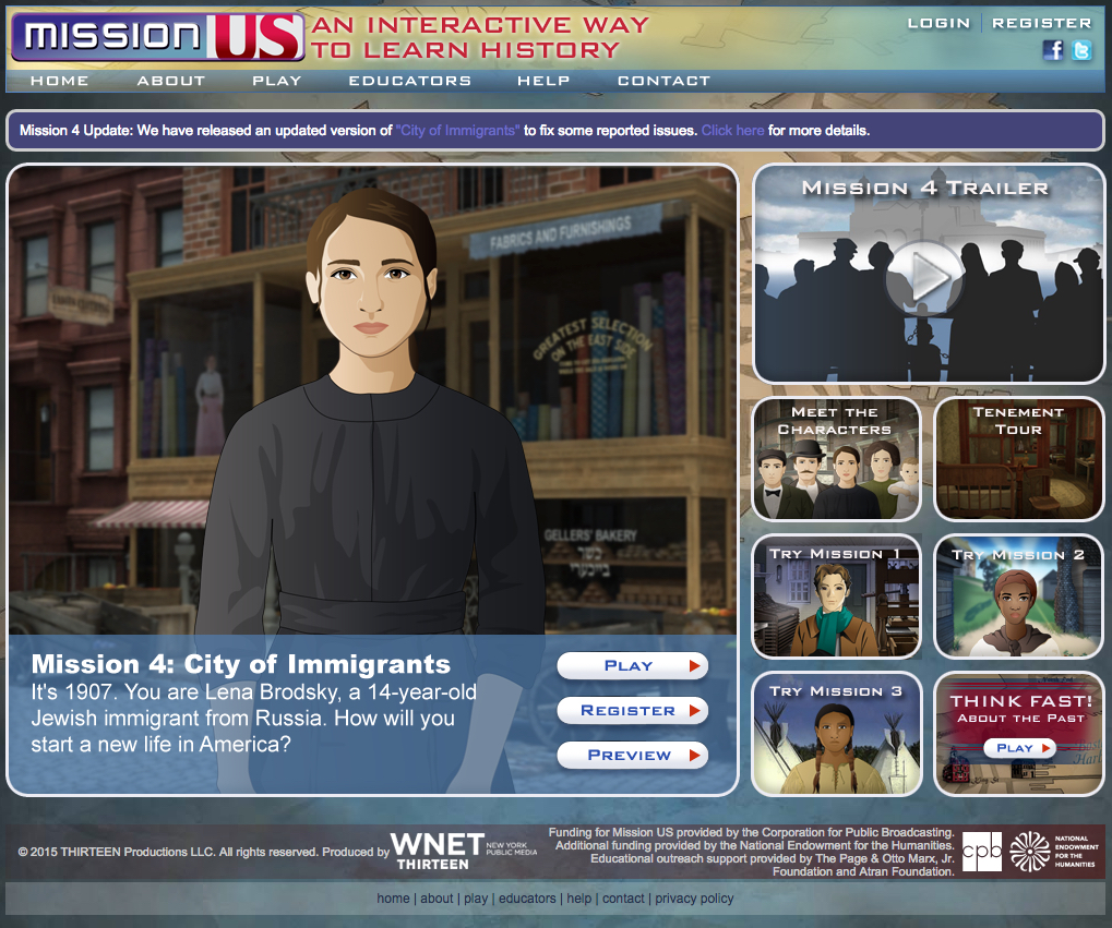 Serious Games Supporting The Study of Immigration And ...