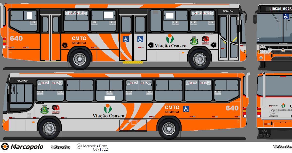 Mercedes Marco Polo 2008 >> Ônibus da Região-SP: Marcopolo Viale da CMTO-Viação Osasco