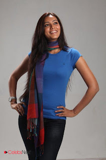 Pallavi Subash Picture Shoot Gallery in Skinny Jeans and Tight Blue T'Shirt ~ Celebs Next