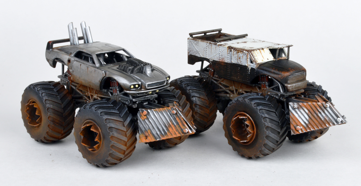 Car model kits metal
