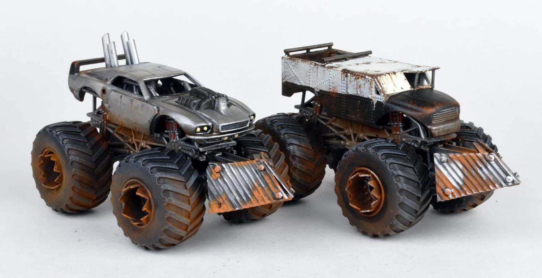 Car model kits metal 13