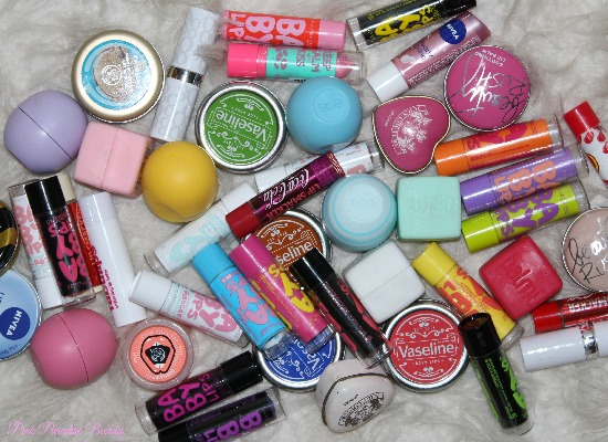 Lip Balm Collection featuring EOS and Baby Lips | Pink Paradise Beauty