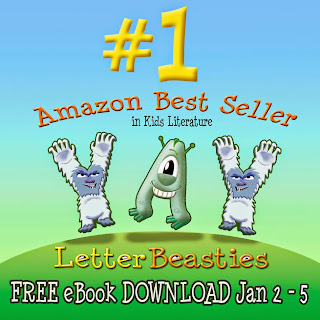 Letter Beasties Amazon Best Seller