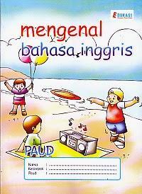 toko buku rahma: buku PAUD - MENGENAL BAHASA INGGRIS, pengarang tim romiz asiy, penerbit ra