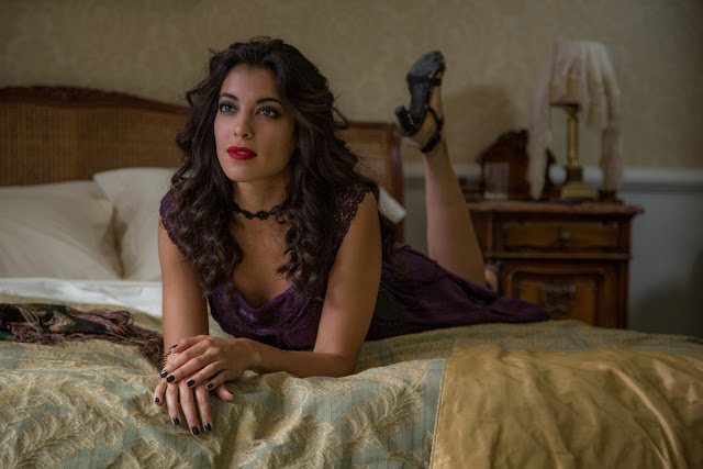 Stephanie Sigman in Metro-Goldwyn-Mayer Pictures/Columbia Pictures/EON Productions' action adventure SPECTRE.