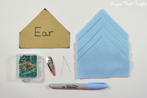 My Little Pony Costume Sew-Along - Day 5: Ears