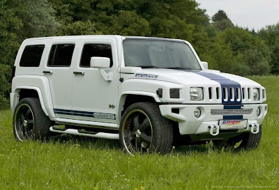 White Hummer H3 Wallpapers - Hummer Cars Modification wallpaper
