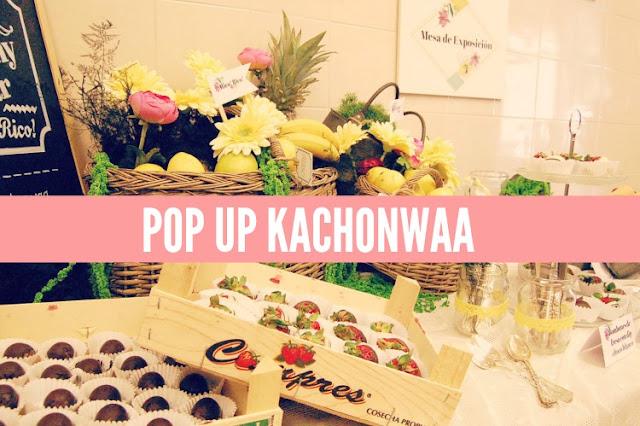 evento, pop up, kachonwaa, felipeando, zaragoza, frutas, chocolate, cobertura, fresas, limonada, canotiers, photocall, catering, el balcon de alicia, decoración,