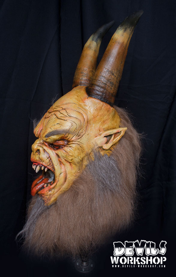 devils workshop krampus mask blood curdling blog of