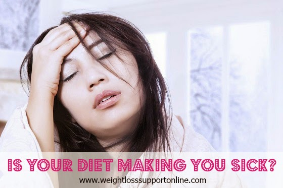 Is your diet making you fat and sick? 3 food and drink tips that can help!