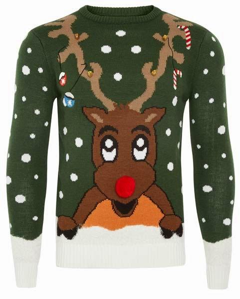 Primark online: jersey de reno Rudolph para hombre