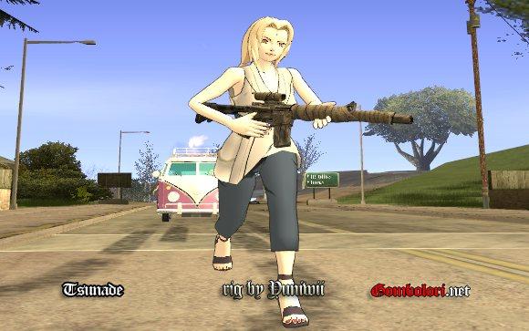 GTA San Andreas Konoha Hokage  GTA 5 Mod GTA 4 GTA San Andreas