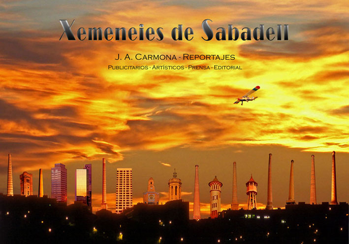 Xemeneies de Sabadell - J. A. Carmona