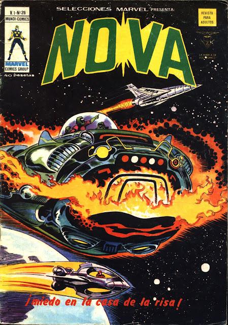 Portada de Nova-Selecciones Marvel Volumen 1 Nº 26 Ediciones Vértice