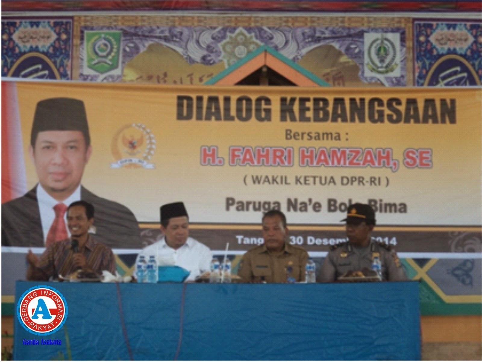 Wakil Ketua DPR RI Gelar Dialog Kebangsaan