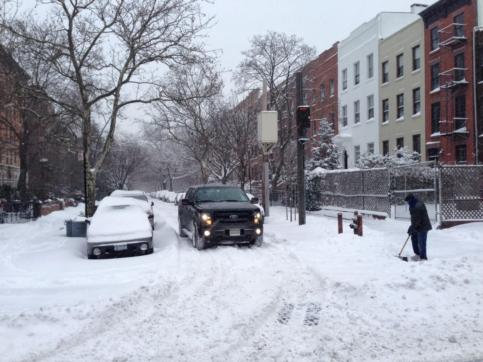 Brooklyn Streets Carroll Gardens Patch Winter Storm