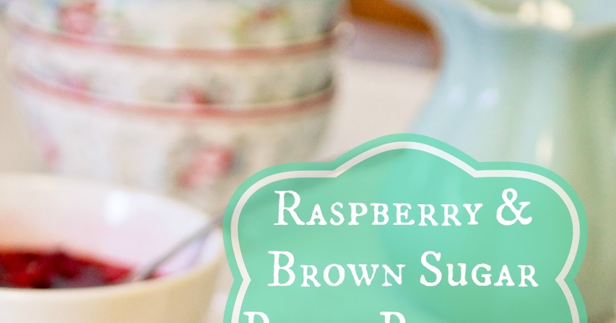 Bubble and Sweet: Raspberry and Brown Sugar Peach pancakes