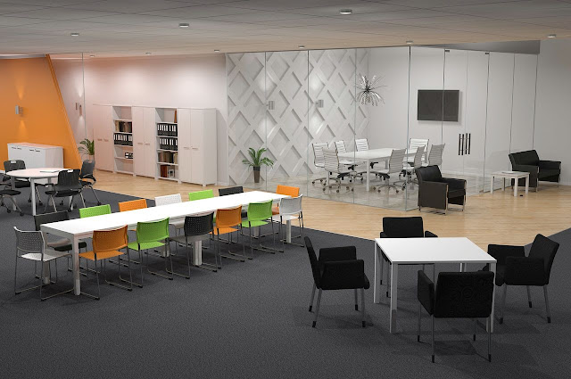 Office space planning guide office furniture malaysia for Office space planning