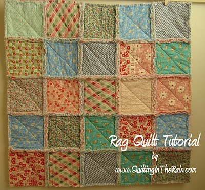 Rag Quilt Patterns For Beginners Free : Oranje Quilters Guild: Rag quilt tutorial