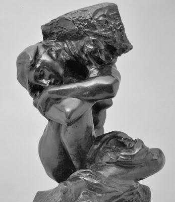 Cariàtide, Auguste Rodin