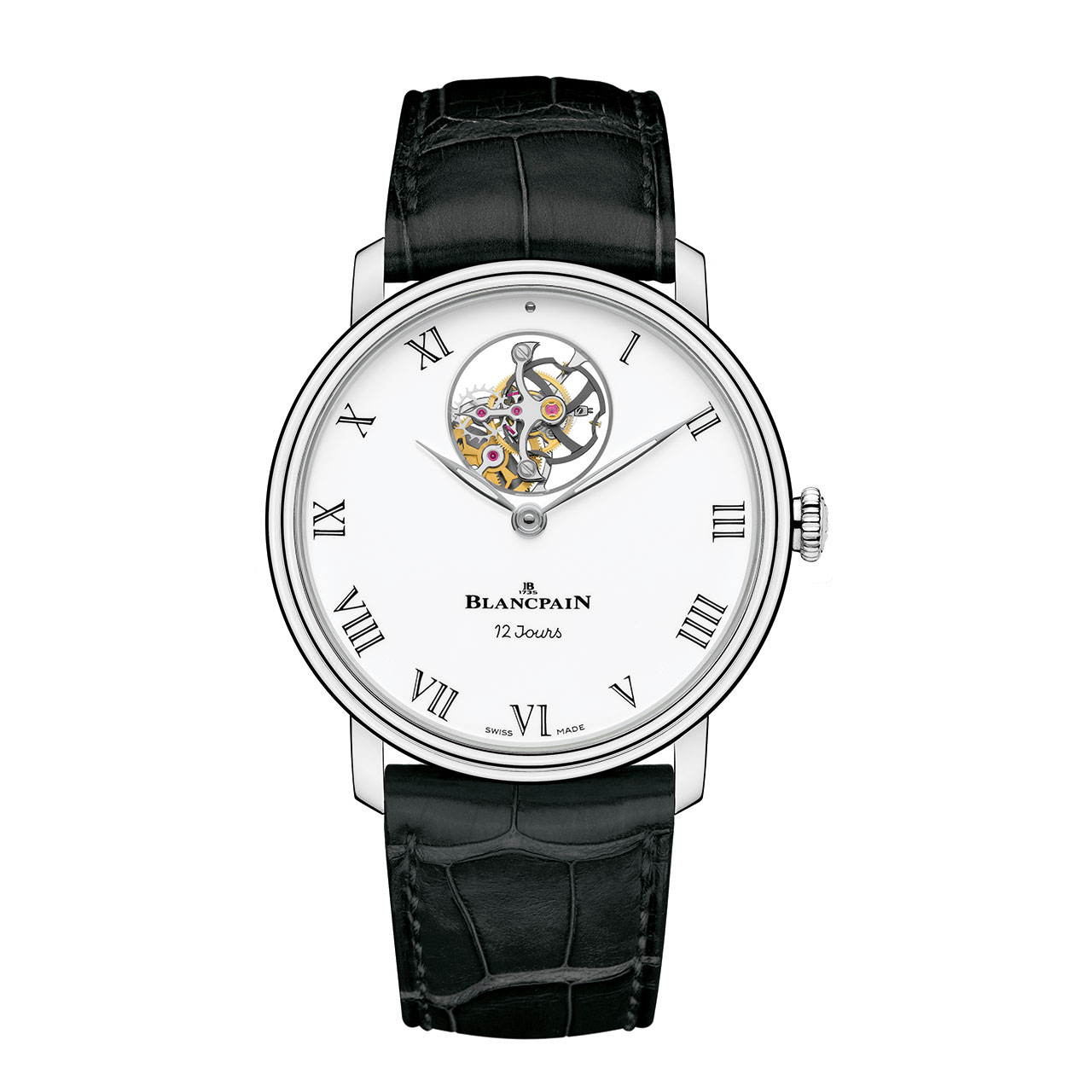 Blancpain Tourbillon Volant Une Minute 12 Jours Self-winding Watch