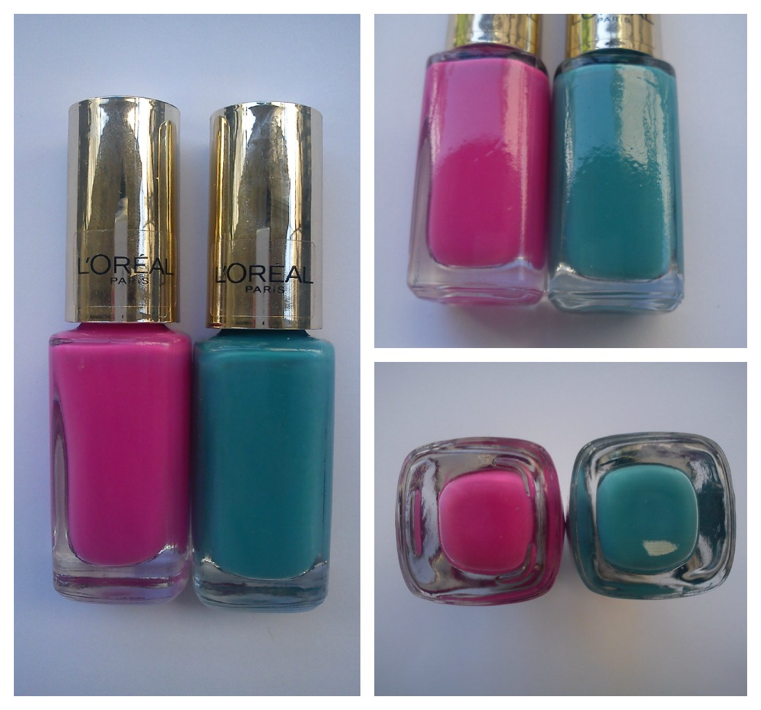 Natalie's Beautyland: L'Oreal Color Riche Nail Polishes