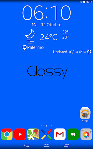 Glossy Square - Icon Pack Apk Gratis (Iconos para Android)