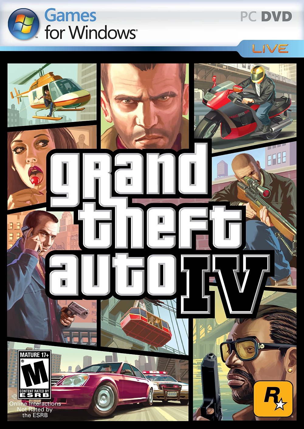 Grand theft auto iv windows 7