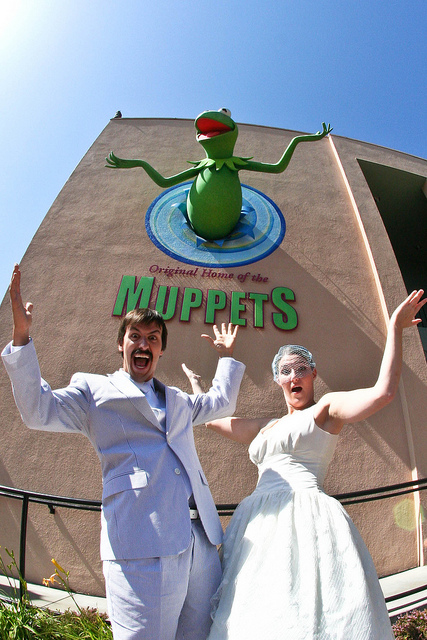 A Muppet Wedding at Jim Henson Studios