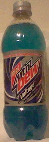 Caffeine King Diet Mtn Dew Voltage Soda Review