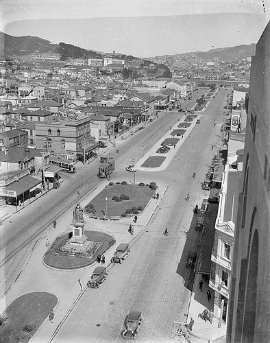 Awesome vintage photos of wellington new zealand for 20 kent terrace wellington