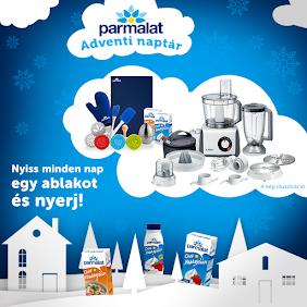 Nyerd meg a Bosch konyhai robotgépet vagy a 150 Parmalat azonnali ajándék egyikét!