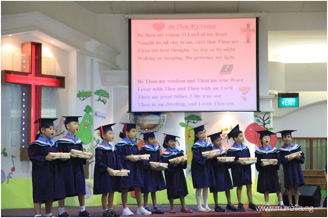 Adam Tan tian Kai graduation convocation concert Changi bethany kindergarten