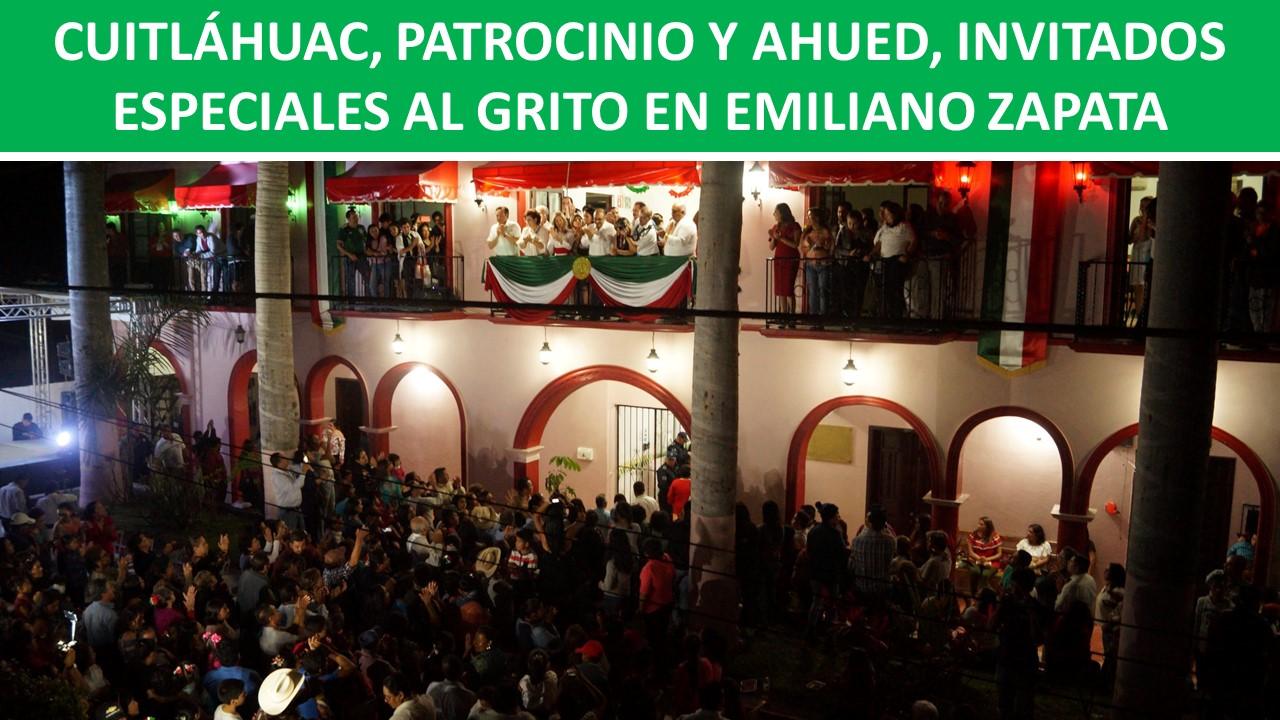 INVITADOS ESPECIALES AL GRITO EN EMILIANO ZAPATA