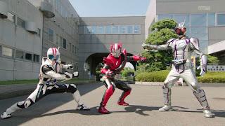 Kamen Riders Mach, Drive & Chaser