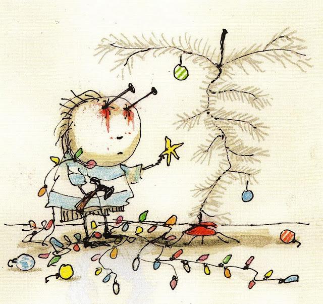 Tim Burton, Il bambino con i chiodi negli occhi