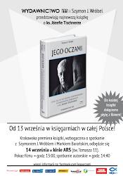 """Premiera książki """"Jego oczami"""" i spotkanie z Szymonem J. Wróblem i Markiem Barańskim"""